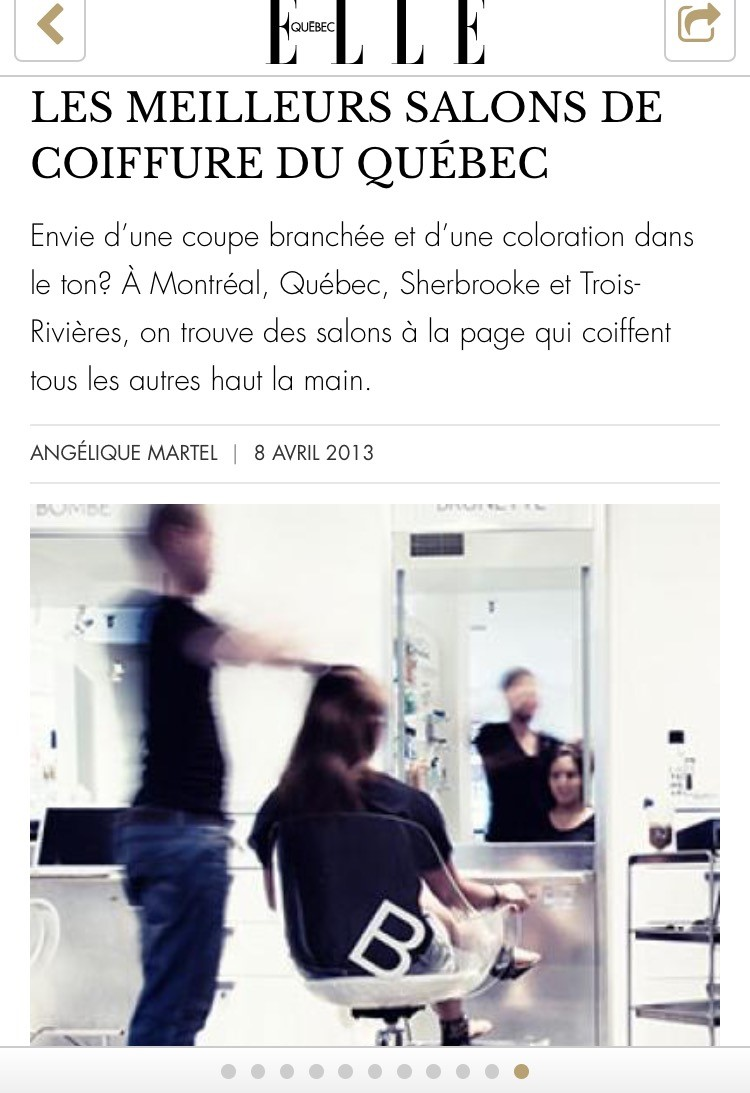 Top 10 salon de coiffure quebec coiffures f minines et for Salon de the quebec